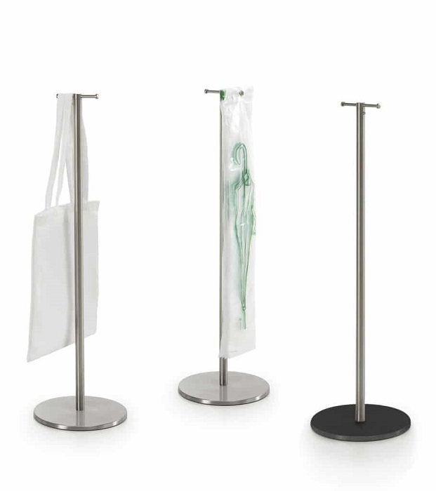 set displays colonnine porta sacchetti -riganelli