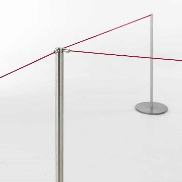 set elastic rope colonnine con elastico - riganelli