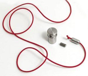 set elastic rope elastico per colonnine guida fila - riganelli