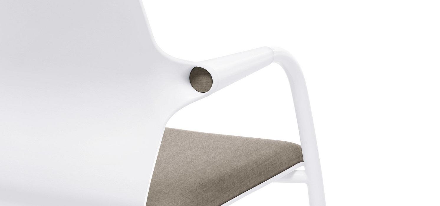 allright dettaglio sedia per l'attesa con braccioli -riganelli