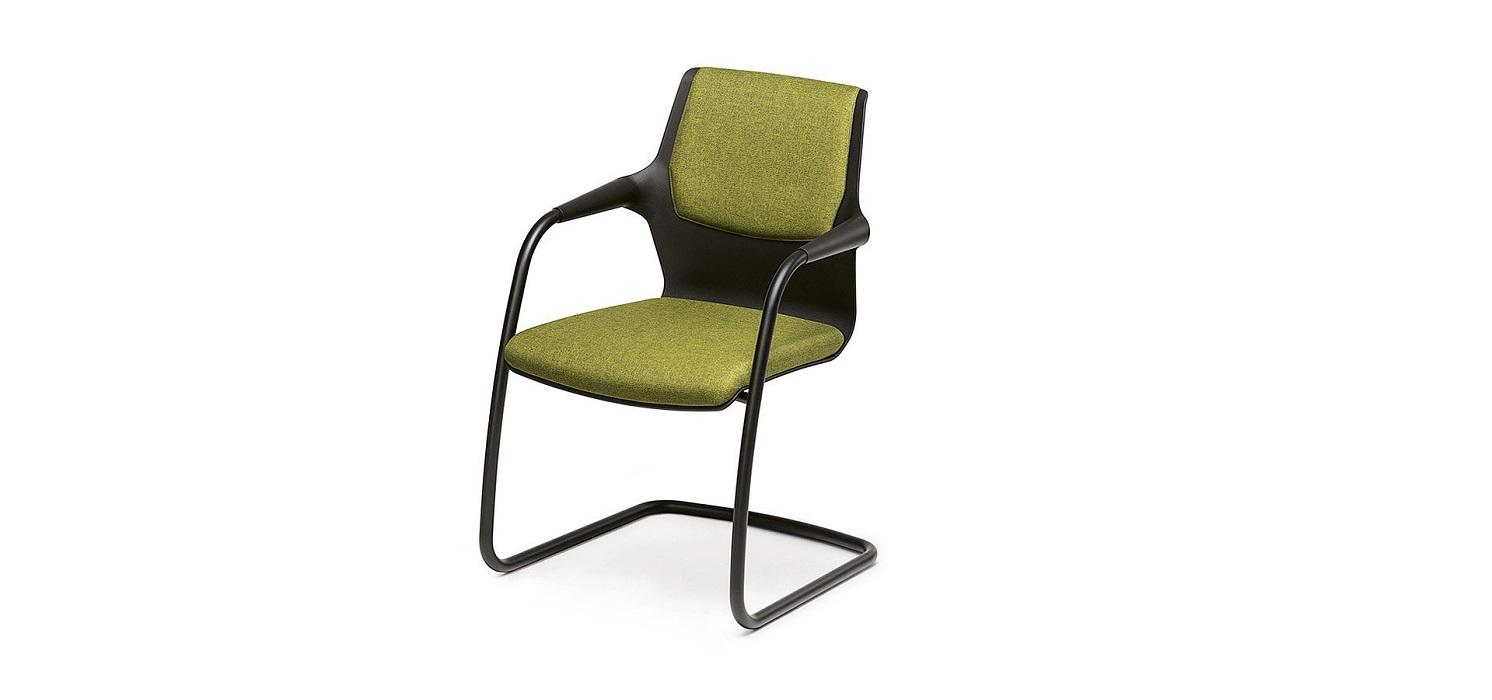 allright sedia fissa a slitta per collettività e ricevimento ospiti -riganelli