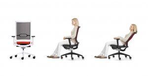 quarterback seduta operativa con schienale flessibile -riganelli