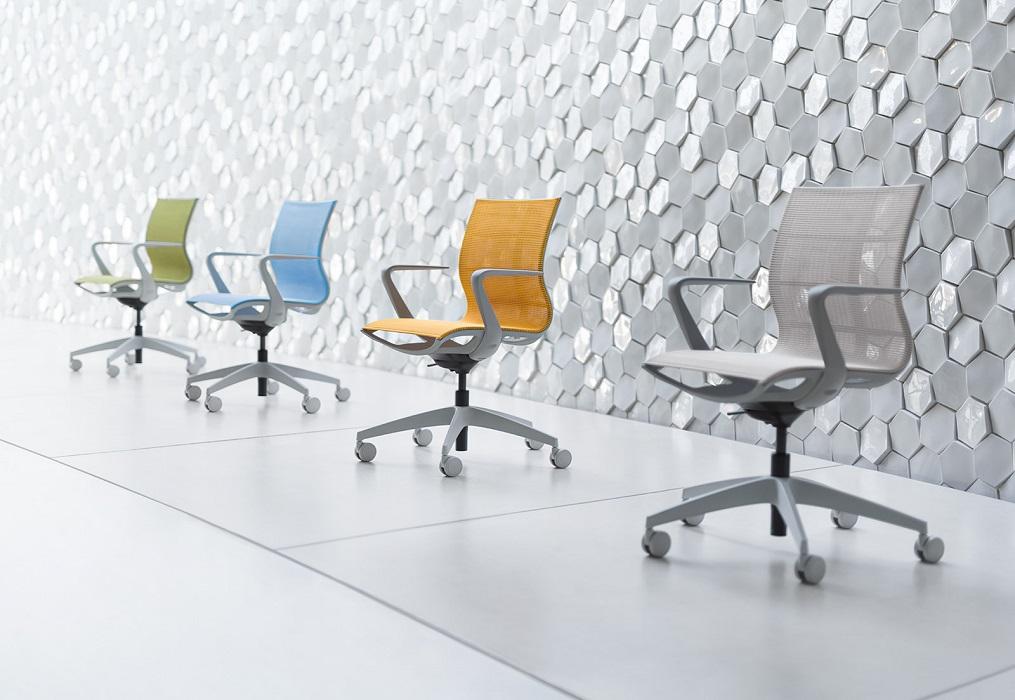 se joy seduta in rete colorata per scrivania in ufficio e a casa -riganelli