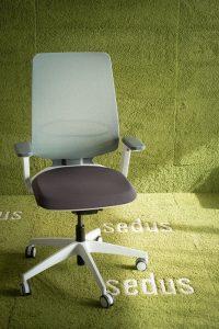 seflex seduta per l'ufficio operativo e per lavorare da casa - sedus -riganelli