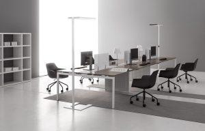 dv802 scrivania operativa bench multipostazione -riganelli