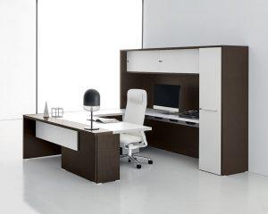 oxford scrivania direzionale con mobile -riganelli