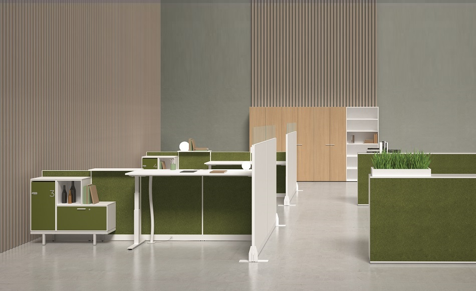 Kubick paretine divisorie per ufficio - riganelli