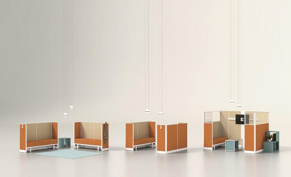 Kubick sistema divisori per ufficio -riganelli