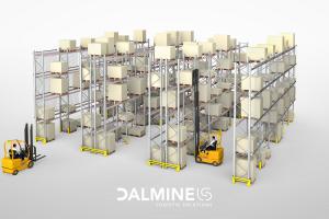 Scaffalatura industriale porta pallet dalmine logistic solutions - riganelli rivenditore
