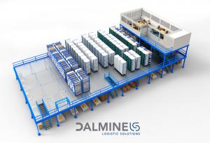 soppalco grande portata dalmine logistic solutions -riganelli rivenditore