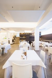 correzione acustica ristorante macerata -riganelli