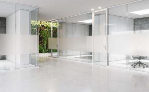 k82 pareti divisorie in vetro per ufficio -riganelli