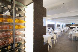 pannelli fonoassorbenti a soffitto per ristorante - riganelli
