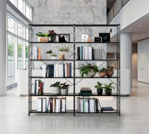 socrate libreria design nera- riganelli