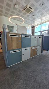Lockers armadietti per uffici condivisi - riganelli