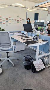 Scrivanie elevabili per ufficio operativo -riganelli