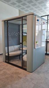 Se cube cabina phonebooth per ufficio -riganelli
