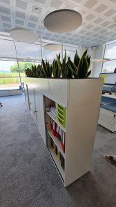 mobili bifrontali divisori per ufficio -riganelli