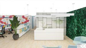 Riganelli progettazione area reception e attesa